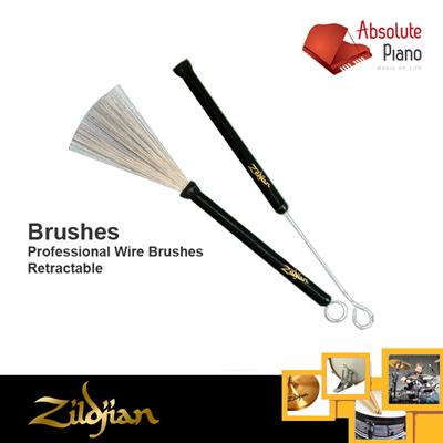 Retractable Zildjian Professional Wire Brushes