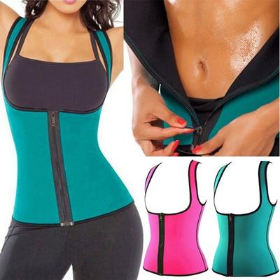 a724a2181 Qoo10 - Zipper Women Sweat Enhancing Waist Training Corset Waist Trainer  Sauna...   Kids Fashion