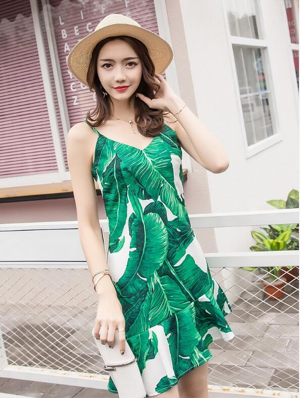 [55555SHOP]新品韓国ファッション春の夏ワンピースワンピース半袖のワンピースストリートのワンピース七分のミニワンピースワンピース