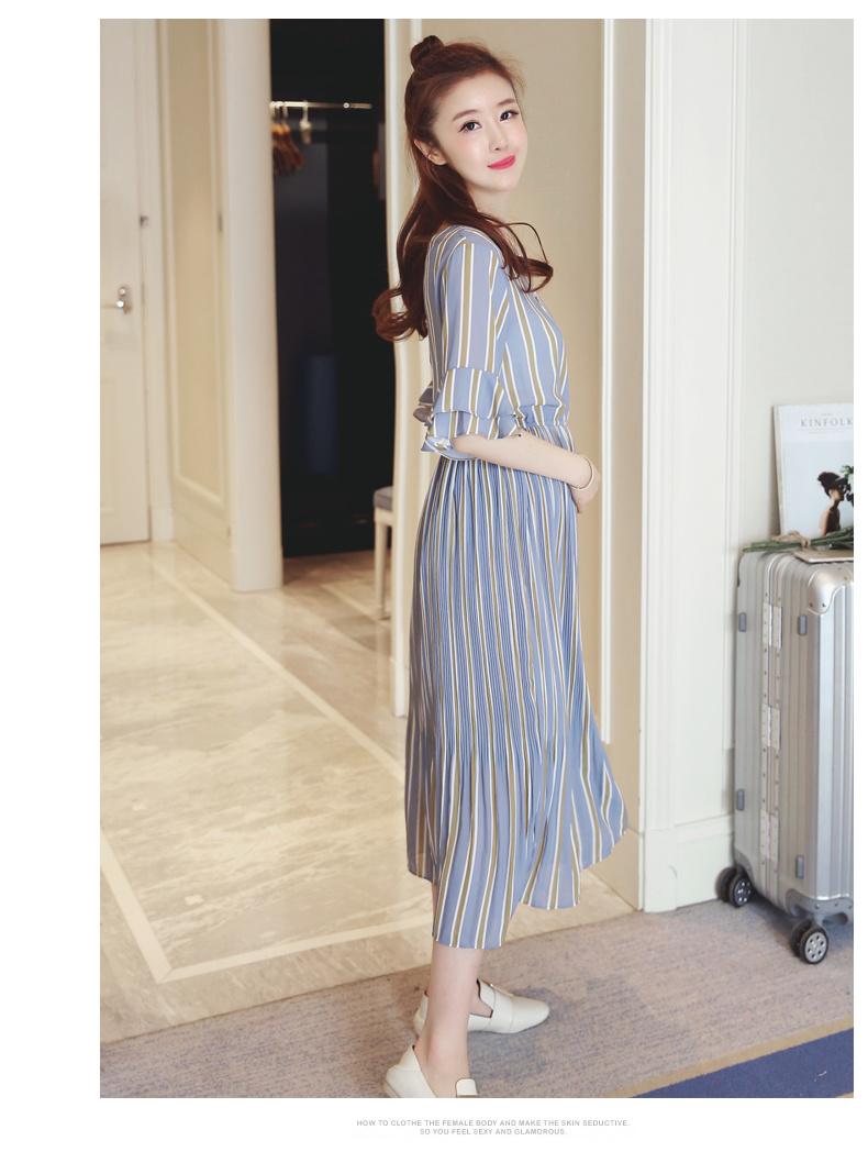 [55555SHOP]妊娠服 大きいサイズ プレミアムスユチ マタニティ マタニティワンピース/ブラウス/Tシャツママに完璧なプレゼント!