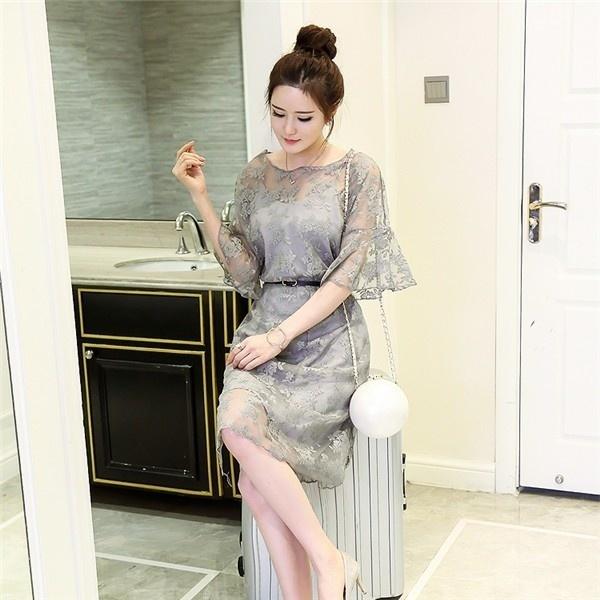 ワンピース レディースワンピース  ビーチワンピース Aラインワンピース シースルーワンピース レースワンピースセクシー ワンピース ドレス シンプル ファッション ハイセンス 着心地いい おしゃれ 夏 韓国ファッション セレブファッション 韓国ファッション 夏服 ロングワンピース 夏ワンピース リゾートワンピース