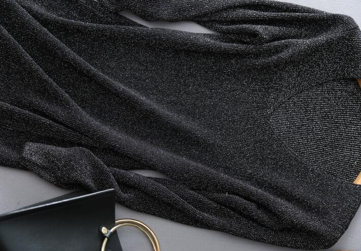 G-8【送料無料】❤❤レディース 新品 セーター ニットワンピース Vネック 長袖 ニットワンピ