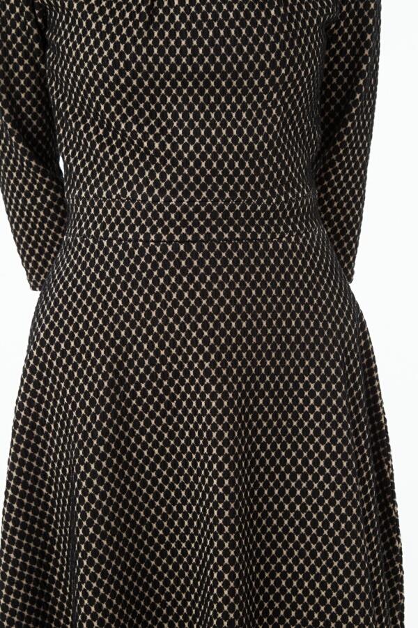 エジェリ(EGERIE) ワンピースフランス PARIS インポート 上品  大人可愛い 7分袖