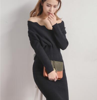 (55555SHOP)韓国ファッション 秋冬新作-高品質-ワンピースアイテム-タイドブランド-ストリート-ビッグ-欧米スター愛着-
