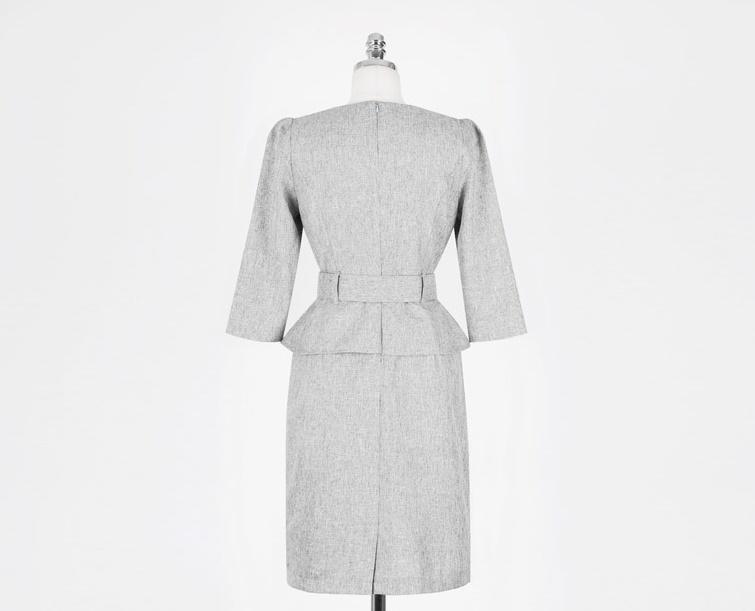 ドレス ワンピース 大きいサイズ 小さいサイズ デート きれいめ スリット シンプル 大人 ワインレッド ゴージャスラインワンピース