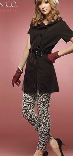 イーストニットA47ホットセール!女性のための新しいセクシーなヒョウのレギンスストレッチパンツ