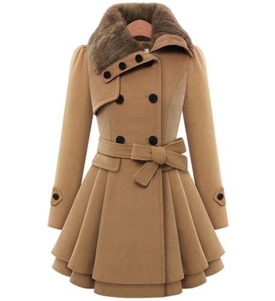 2017レディースファッション秋冬ゴシックトレンディマキシフード付きウールクロークカーディガンコートマキシカシミア