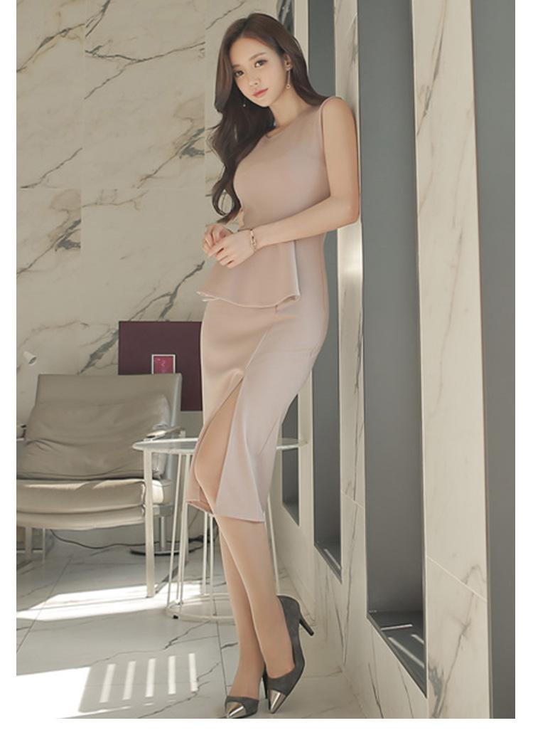 レディース ワンピース 新作 パーティー 出勤 OL 上品 ドレス ファッション OL
