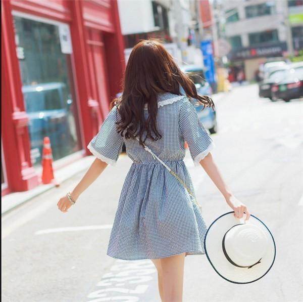 レディースワンピース 韓国無地 スリム 韓国のファッション   プリントワンピース  学院風 ハイセンス 着心地いい おしゃれ 夏 スリム セール★ レディースワンピース