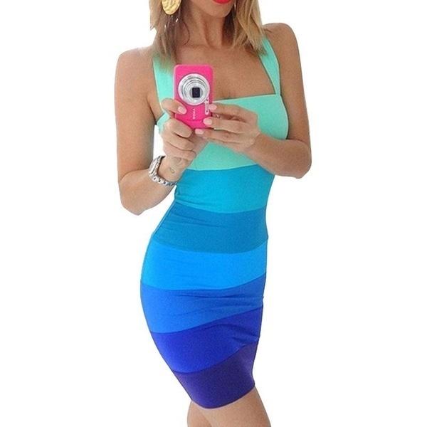 Mdiolyファッションセクシーな女性のルーズカジュアルドレスストラップレスパーティードレス