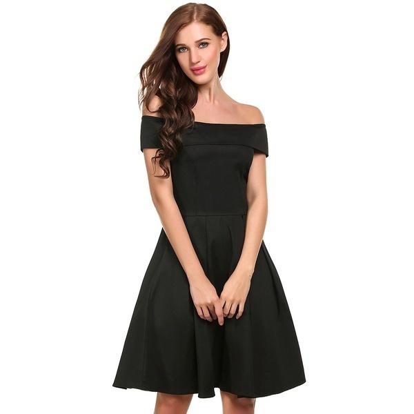 サニーショッピング女性のカジュアルノースリーブプリントスラッシュネックカクテルミニオフショルダーラインドレス