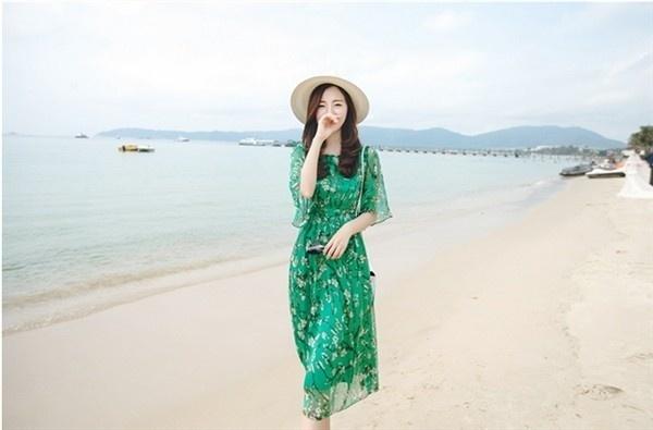 レディースワンピース ビーチワンピース 砂浜 大きいサイズ ファッション ハイセンス 着心地いい おしゃれ 夏 レディースワンピース