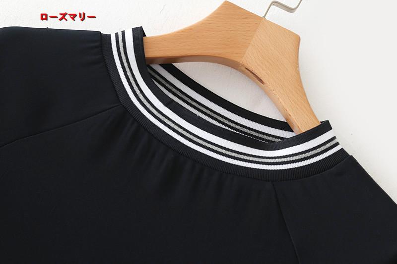 【ローズマリー】新しいシャツのネジ切り替えゆったりワンピース ヴィンテージ調  ベーシック 大人気 スイート-QQ4338