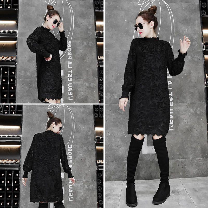 【RH497】♥2017高品質 ワンピース 韓国ファッション ♥限定発売♥上品&ガーリー♡レトロ レース ♪ ワンピース/シャーリングディテール ワンピース