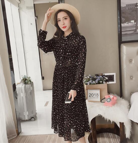[55555SHOP]韓国ファッション★女性ファッション★シースルー・シフォンワンピース★・ニット★ワンピース★・パーカ★デートファッション