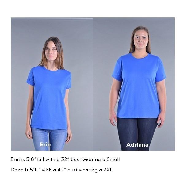 Be More Chill GildanレディースTシャツ