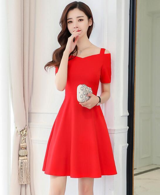 [55555SHOP]長いセクションの後に新しいボヘミアンスリングストラップレス/韓国ファッション/ワンピース/花柄ワンピース
