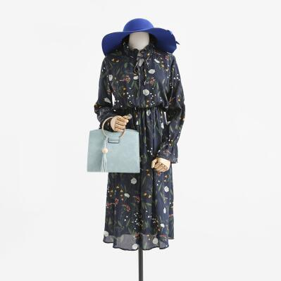 【55555shop】4.23新作登場♪韓国ファッション春ワンピース 〈新品発売 数量限定〉★2017Korean chic style!!/韓国ファッション/コート/ワンピース/スカート/
