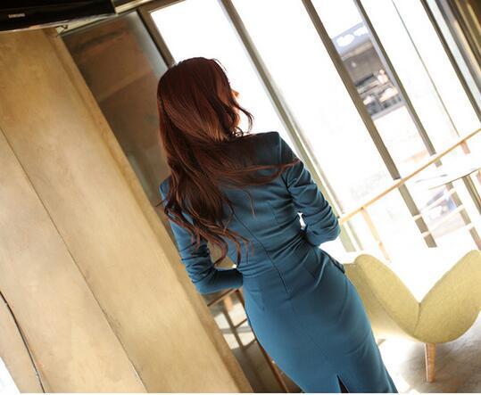 タイトワンピース 花柄 Vネック パーティドレス 7分袖 お嬢様 セクシー OL 上品 オフィスレディー