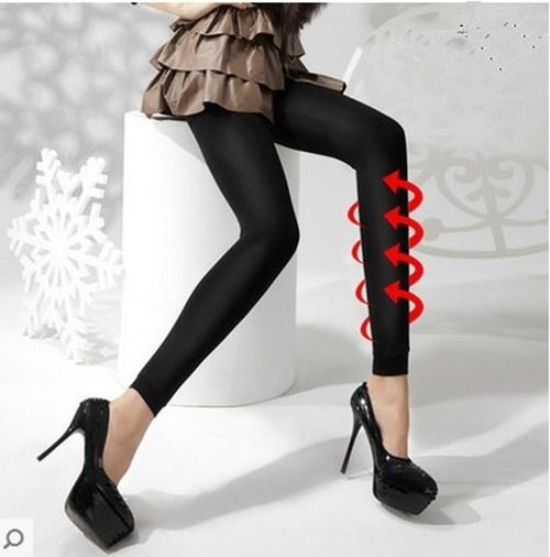 ファッションレディースパンツ美容脚圧縮脂肪ホットバディシャツレギンスを燃やす