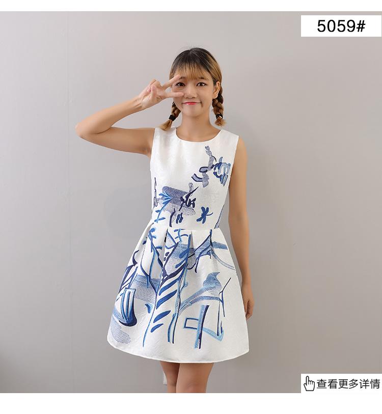 スカート 花柄 高品質♥韓国ファッション♥OL、正式な場合、礼装ドレス♥セクシーなワンピース、一字肩♥二点セット、側開、タック入り♥やせて見える、ハイウエストスカート♥无袖、半袖♥