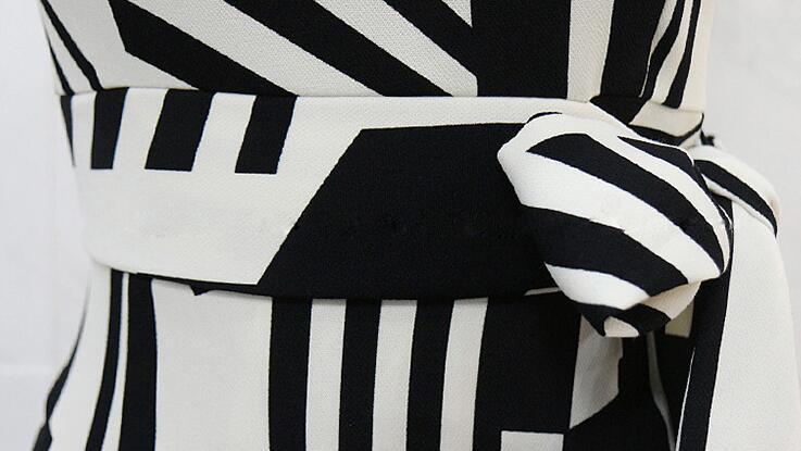 レディース ワンピース 新作 パーティー 幾何学柄 OL 上品 ドレス プリント セクシー