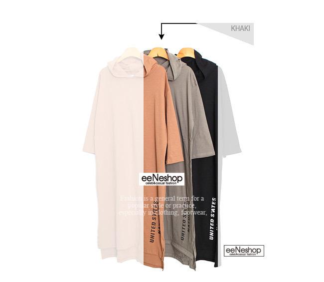 ★送料無料★レタリング プルオーバー フードワンピース レディース 韓国ファッション ワンピース Tシャツ ブラウス カーディガン ルームウェア セットアップ トレーナー バッグ リュック パーカー