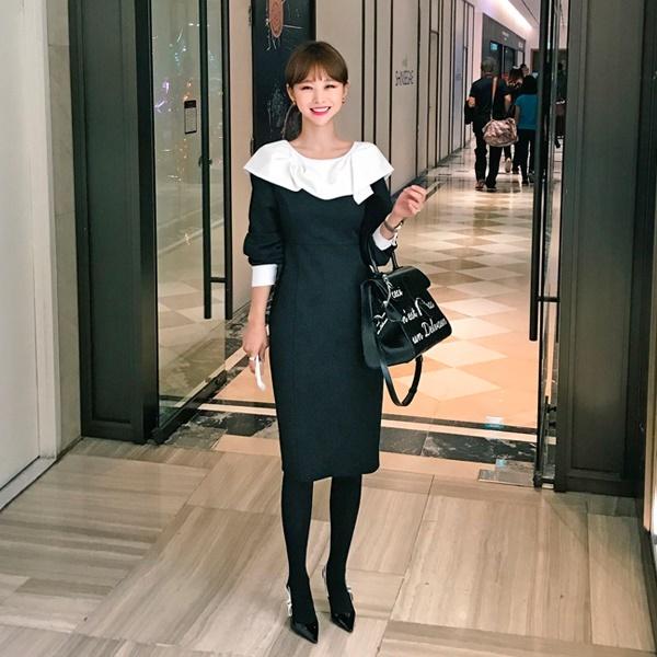 【IMVELY イムブリー公式】エレガントブリーワンピースI74OP1001/I74OP1001 韓国ファッション レディース