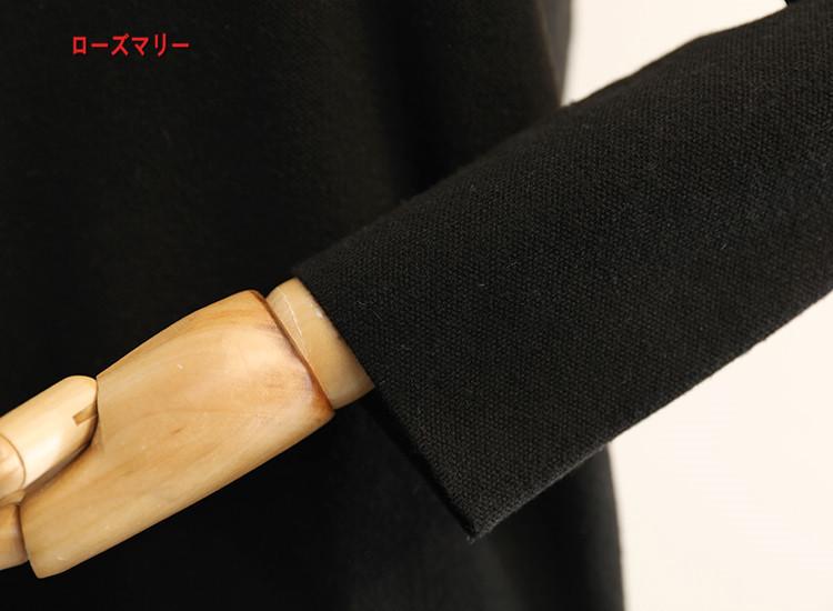 【ローズマリー】冬の新型韓版chicマーメイド切り替えニット修身着やせ毛玉装飾のワンピース 長袖ニットワンピース  ベーシック フィットスタイル 大人気-QQ5509