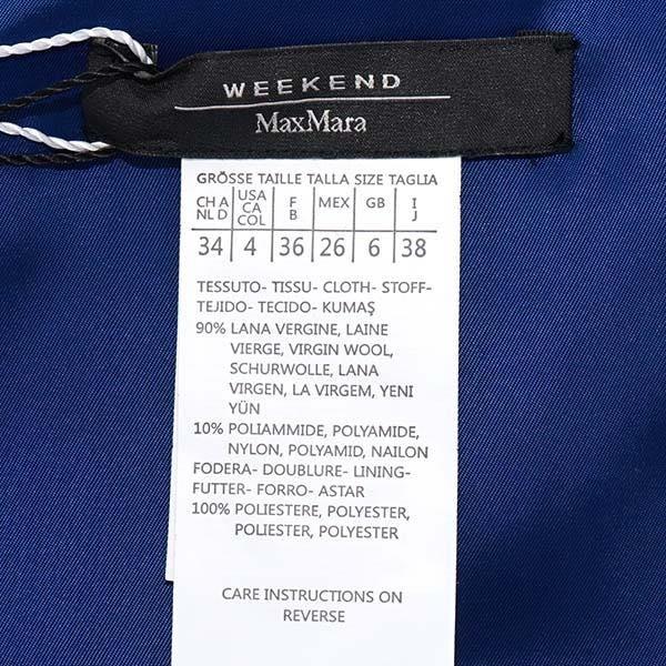マックスマーラ MaxMara / MaxMara WEEKEND ワンピース 38 #SACCO 01 BLUETTE新春初売り大特価中!