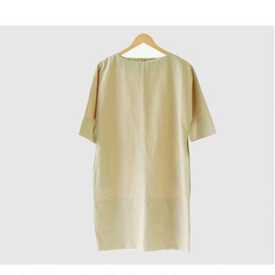 [SOONI STYLE]★韓国ファッション♥波状のドレス★★ 2color