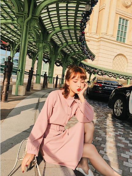 [55555SHOP]K ♥韓国 ファッション ロングワンピース セット