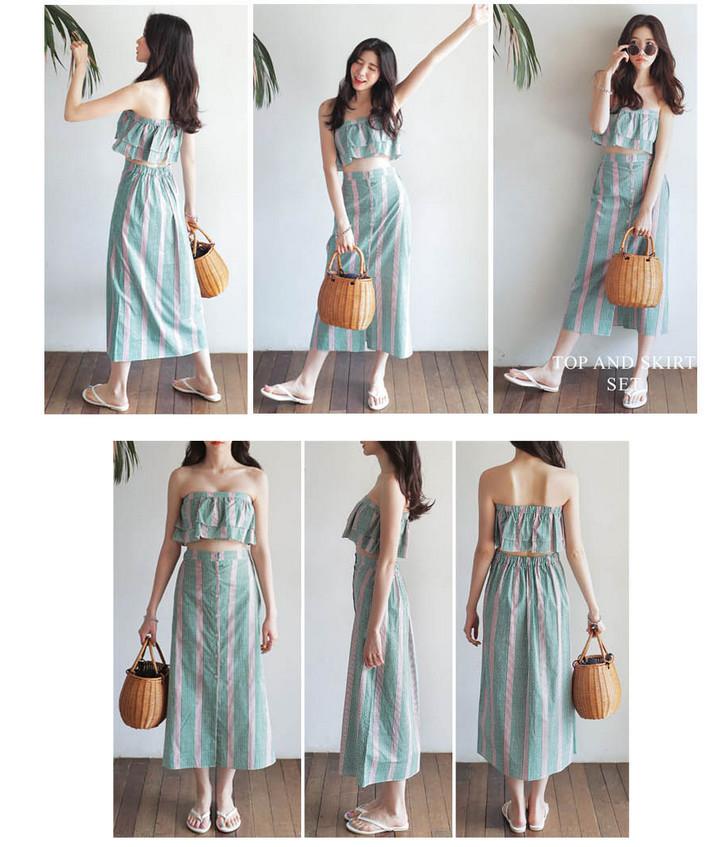 Korean chic style!!/韓国ファッション/Tシャツ/コート/ワンピース/スカート/naning9/stylenanda