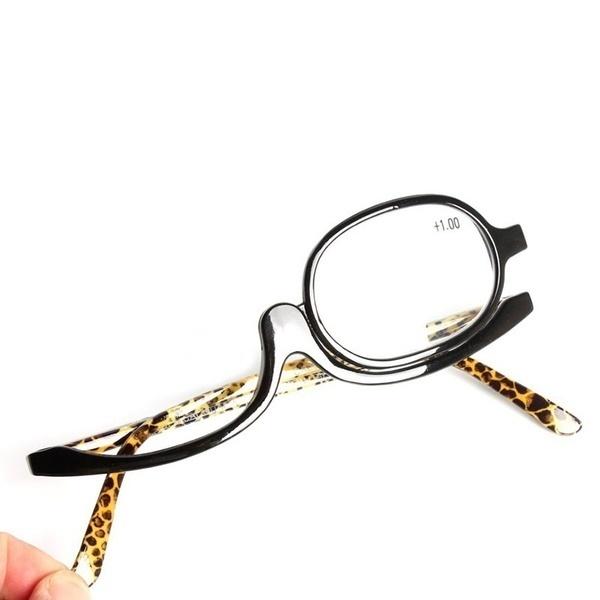 ホットセール1PC最新メイクアップメガネ旋回老眼鏡老眼鏡フレーム