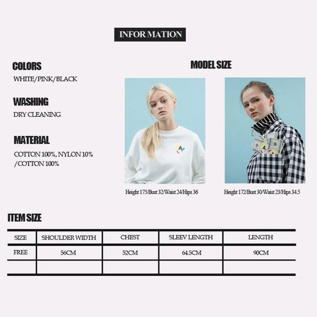 送料無料 レディース レディースファッション 長袖 シャツ ワンピ セパレート 2WAY ピンク ブラック ホワイト ANOTHERA 3色