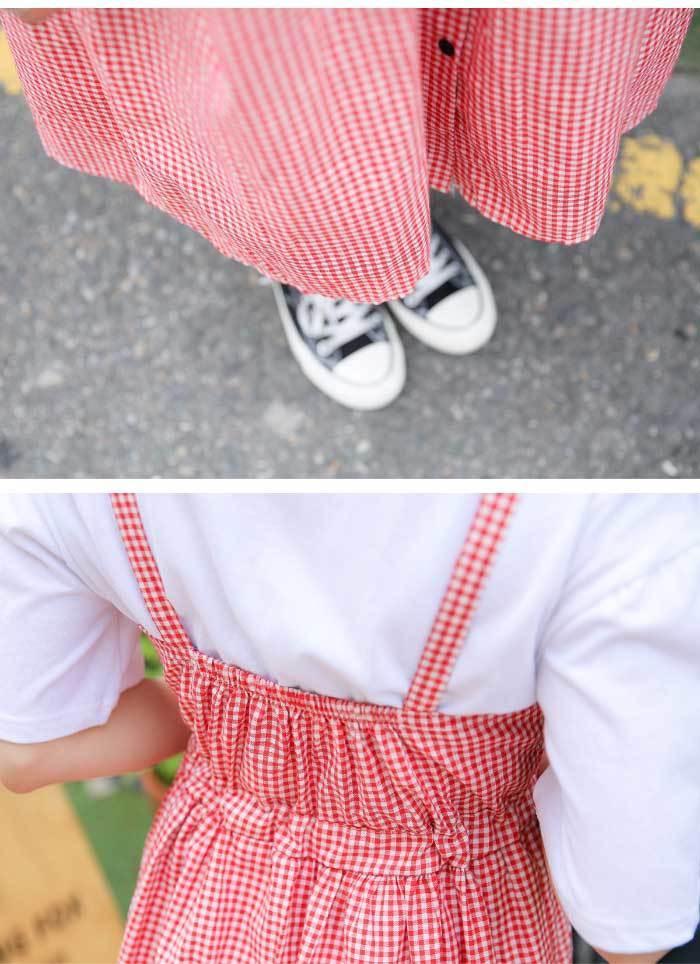 SONYUNARA(ソニョナラ)チェックチェックワンピース【7/25up_wo】韓国 韓国ファッション チェック ワンピース ギンガム 夏 サマー