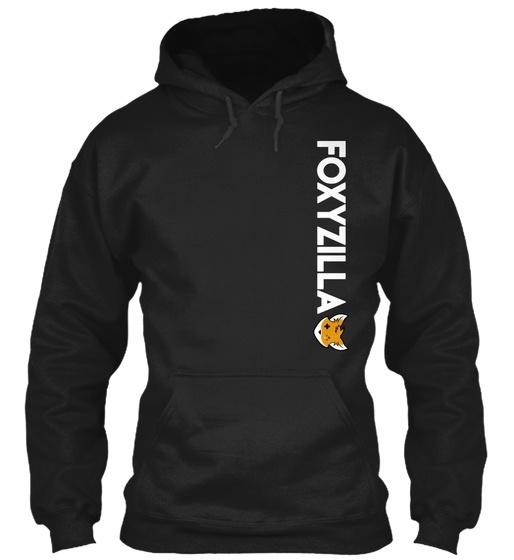 Foxyzillaside  -  Foxyzilla Gildanパーカースウェットシャツ