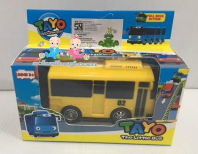 Mainan Anak Mobil Tayo Sliding Pullback Kecil - LANI Kuning