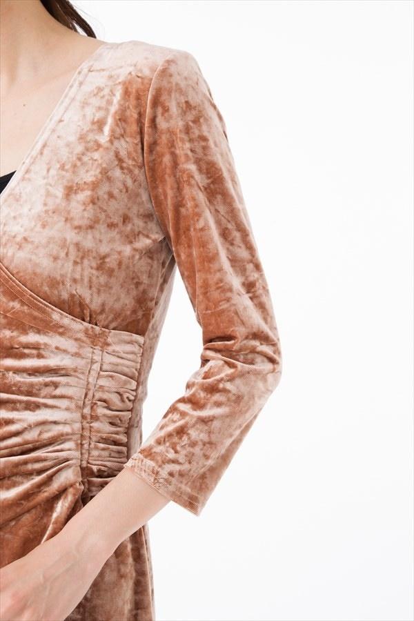 フィフィーユ(FIFILLES)ワンピースフランス PARIS インポート 上品  大人可愛い 7分袖