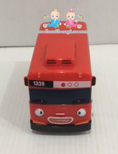 Mainan Anak Mobil Tayo Sliding Pullback Kecil - GANI Merah
