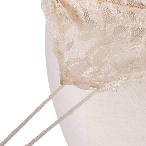 ハーフボディー装飾カバーストライプ絶妙なドレスフォームレースマネキンストレッチトップ