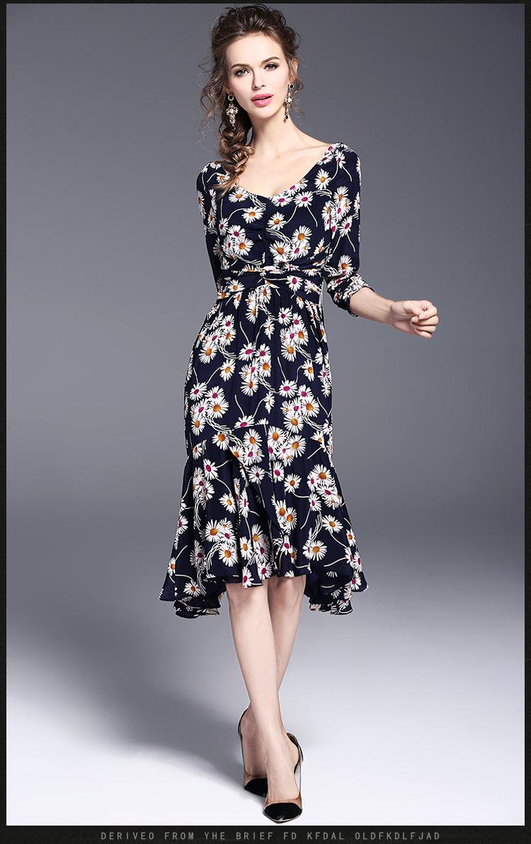 レディース ワンピース 出勤 新作 パーティー 花柄 OL 上品 ドレス
