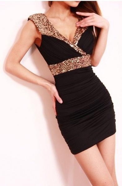 女性のドレスClubwear PartyセクシーなVネックミニホワイトスカート3色(SサイズはONE SIZE)
