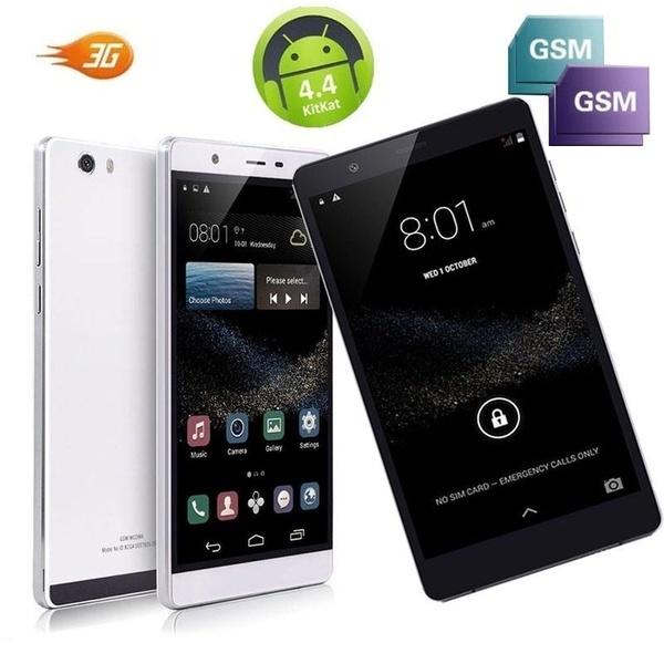 2017 NEW 6.0インチGX 3G + GSM GPS Bluetooth Android5.1デュアルシムAT&Tトーク4コア16GBスマートフォンブラック/
