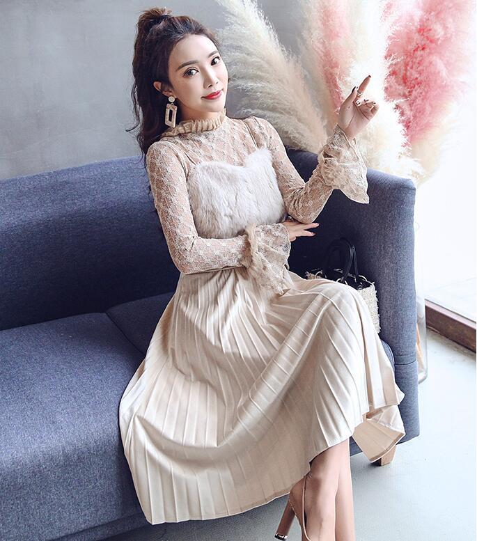 韓国ファッション♥OL、正式な場合、礼装ドレス♥セクシーなワンピース