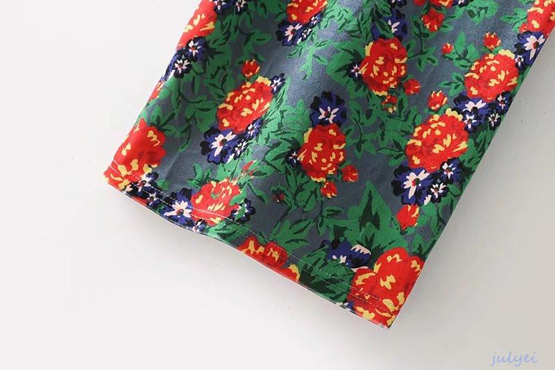 ベロア素材  タイトワンピース 姫系ワンピース 花柄 ワンピース 半袖 ロングワンピース  Vネック  お嬢様 セクシー  上品 オフィス