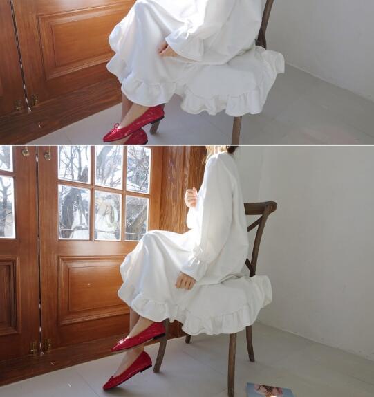 [55555SHOP]レディース 新作  ワンピース   保温 通勤  上品 ドレス