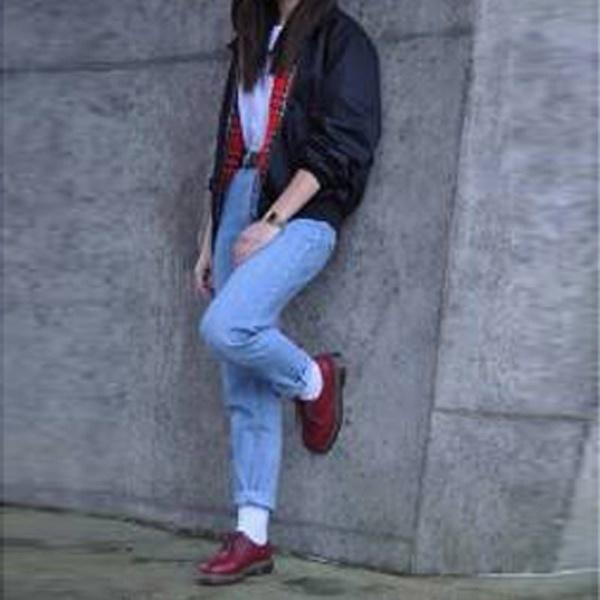 ファッションレディースロングスリーブレトロタータンは、ハリントンモッズパンクボマージャケットコート9サイズを並べ替え