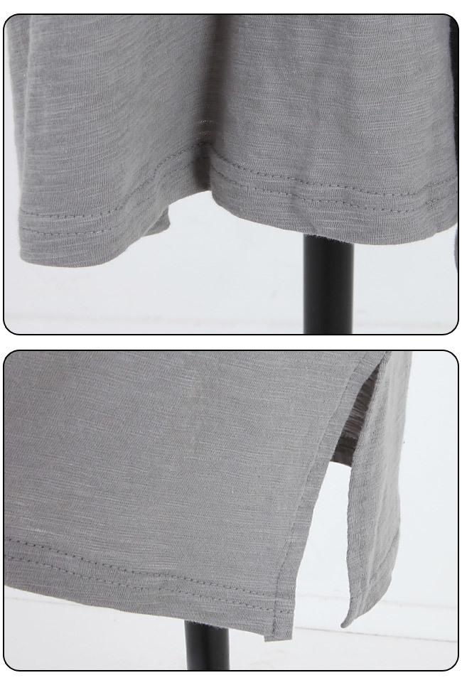 ★送料無料★Vネック バッククロス カットソーワンピース レディース 韓国ファッション ワンピース Tシャツ ブラウス カーディガン ルームウェア セットアップ トレーナー バッグ リュック パーカー