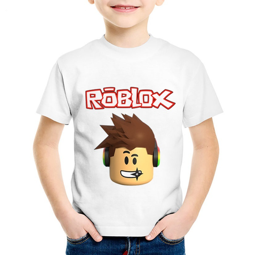 Vn Shirt Roblox Qoo10 Roblox Stardust Ethical Game Printed Children T Shirts Kids Funny Red Kids Fashion